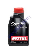 MOTUL SPECIFIC 504 00 / 507 00 SAE 5W30 (1л), 838711