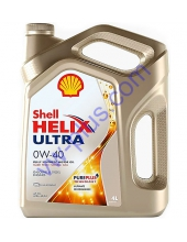 Масло моторное Shell Helix Ultra 0W-40, 4л