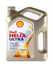 Масло моторное Shell Helix Ultra 5W-30, 4л