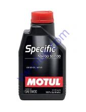MOTUL SPECIFIC 504.00 / 507.00 SAE 5W30 (1л), 838711