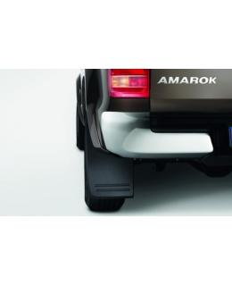 Брызговики задние Volkswagen Amarok 2010> для автомобилей без расширителей колёсных арок - 2H0075101B