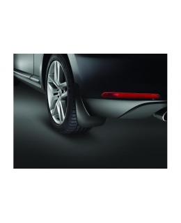 Брызговики задние Volkswagen Beetle 2011> с чёрной муаровой поверхностью - 5C0075101