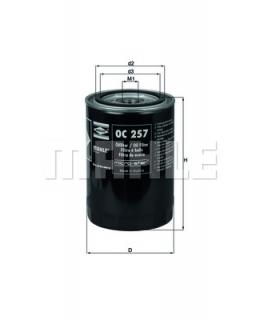 KNECHT Фильтр масляный OC257