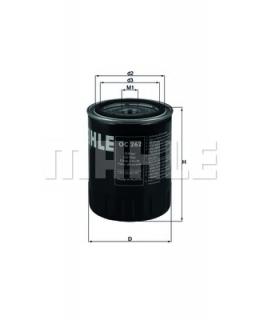 KNECHT Фильтр масляный OC262