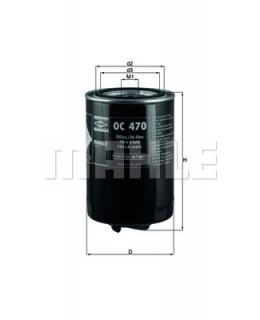 KNECHT Фильтр масляный OC470