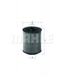 KNECHT Фильтр масляный OX160D