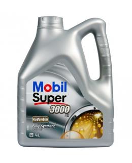 Mobil SUPER 3000 X1 5W-40, 4л