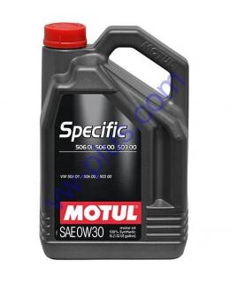 MOTUL SPECIFIC 506.01 / 506.00 / 503.00 SAE 0W30 (5л), 824206