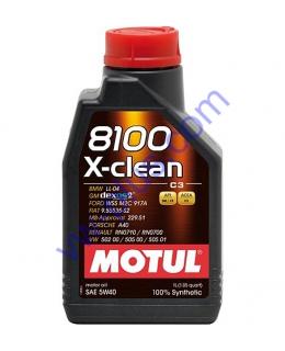 MOTUL 8100 X-CLEAN SAE 5W40 (1л), 854111