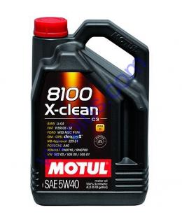 MOTUL 8100 X-CLEAN SAE 5W40 (4л), 854154