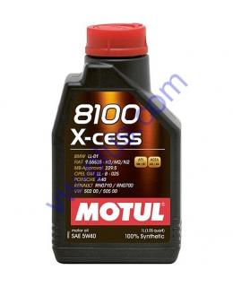 MOTUL 8100 X-CESS SAE 5W40 (1л), 368201