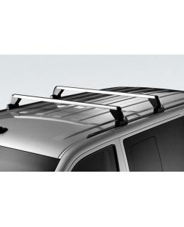 Поперечные рейлинги для багажной системы Volkswagen Caravelle 2003-2009, Caravelle 2010>, Multivan 2003-2009, Multivan 2010>,Transporter 2003-2009, Transporter 2010> - 7H0071126A для автомобилей с крепёжными планками