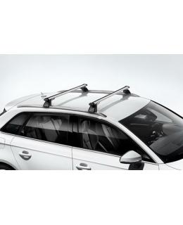 Поперечные рейлинги Audi A3/S3 Sportback 2013> - 8V4071151 с продольными рейлингами на крыше