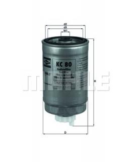 KNECHT Фильтр топливный KC80