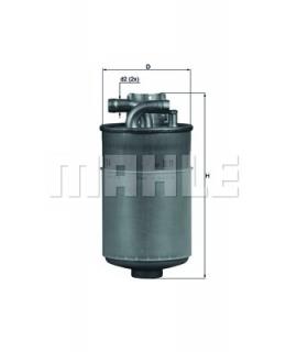 KNECHT Фильтр топливный KL154
