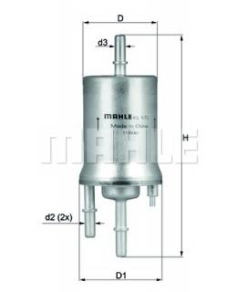 KNECHT Фильтр топливный KL572