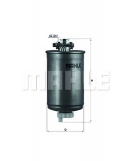 KNECHT Фильтр топливный KL75