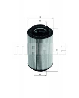 KNECHT Фильтр топливный KX178D
