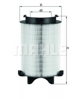 KNECHT Фильтр воздушный LX1566