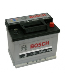 Аккумулятор Bosch S3 56Ah, EN 480, 0092S30050