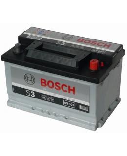 Аккумулятор Bosch S3 70Ah, EN 640, 0092S30070