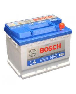 Аккумулятор Bosch S4 Silver 60Ah, EN 540, 0092S40050