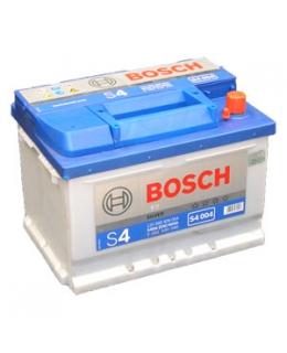 Аккумулятор Bosch S4 Silver 60Ah, EN 540 (низкий), 0092S40040