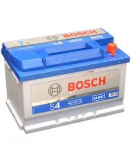Аккумулятор Bosch S4 Silver 72Ah, EN 680 (низкий), 0092S40070