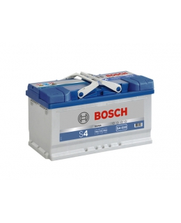 Аккумулятор Bosch S4 Silver 80Ah, EN 740, 0092S40100